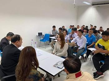 วิทยาลัยนวัตกรรมและการจัดการ ศูนย์การศึกษาจังหวัดระนอง ดำเนินการจัดสอบสัมภาษณ์เพื่อคัดเลือกบุคคลเข้าศึกษาสาขาวิชารัฐศาสตร์ ประจำปีการศึกษา 2562