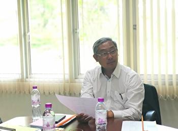 รศ.ดร.วิทยา เมฆขำ รองอธิการบดีฝ่ายแผนงานและประกันคุณภาพ เป็นประธานประชุมบุคลากรศูนย์การศึกษาจังหวัดระนอง ครั้งที่ 3/2562
