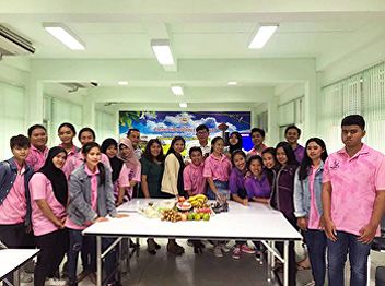Students in Tourism and Hospitality Industry Management join training course