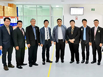 The opening ceremony of the Learning and Logistics Center at Ranong Education Center.