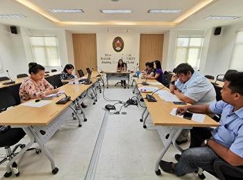 วันที่ 10 มีนาคม 2563 เวลา 13.00 น. นางสาววนัสนาฏ ประพาลา รักษาการหัวหน้าสำนักงานศูนย์การศึกษาจังหวัดระนอง เป็นประธานในการประชุมบุคลากรศูนย์การศึกษาจังหวัดระนอง วาระพิเศษ