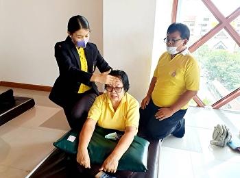 วันที่ 14 กรกฎาคม 2563 เวลา 09.00 น. กลุ่มภัฏพัฒน์ นวดไทย ศูนย์การศึกษาจังหวัดระนอง เข้าร่วมอบรมการบรรยายและสาธิตการนวดไทยแก้ไขอาการที่พบบ่อย