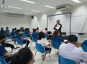 วันที่ 30 กรกฎาคม 2563 เวลา 11.00 น. รศ.ดร.วิทยา เมฆขำ รักษาราชการแทนรองอธิการบดีฝ่ายแผนงานและประกันคุณภาพ พบปะนักศึกษาศูนย์การศึกษาจังหวัดระนอง มหาวิทยาลัยราชภัฏสวนสุนันทา