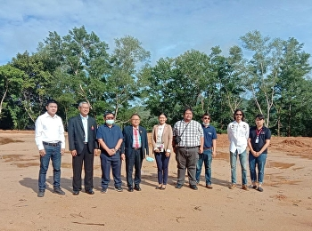 In the morning of October 2, 2020, Assoc. Prof. Dr. Wittaya Mek Khamraksa, Representative Vice President for Planning and Quality Assurance Along with Prof. Suwat Nuanchao, Acting Director of Ranong Education Center And related persons visiting the area f