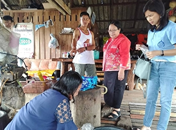 In the morning of 3 December 2020, Mrs. Anchan Chongcharoen, Advisor to the Director of Ranong Education Center And Asst. Prof. Dr. Rinrada Great development And the team went to the area to survey the shrimp paste production process, Tha Ton Community