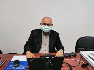 ช่วงเช้า วันที่ 22 กรกฎาคม 2564 อาจารย์สุวัฒน์  นวลขาว ผู้อำนวยการศูนย์การศึกษาจังหวัดระนอง 